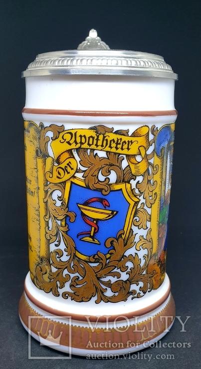Коллекционая пивная кружка, BMF, Германия