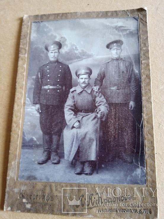 Фото военных 1910- 1915 гг., фото №2