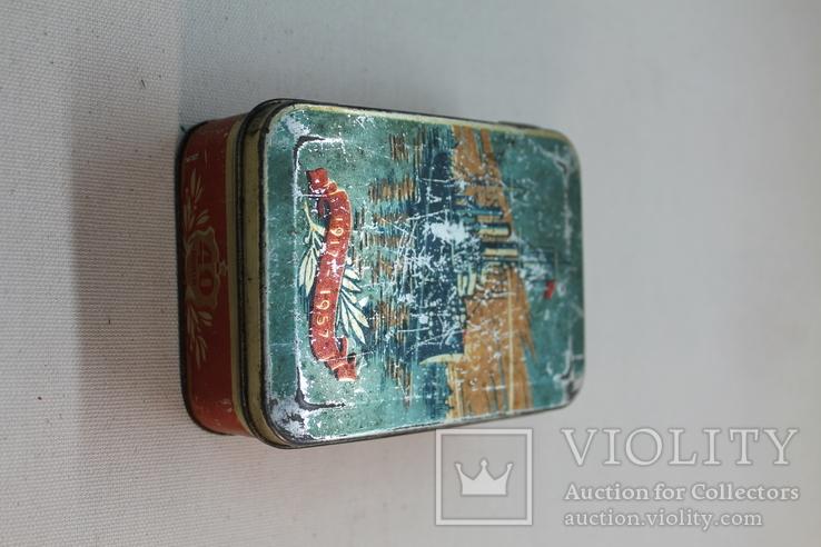 Жестяная коробка кондитерка им. К.Маркса, фото №3