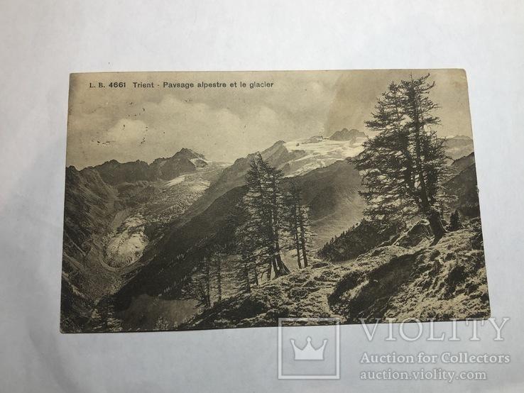 Триент - альпийский пейзаж. Швейцария. (2704), фото №2