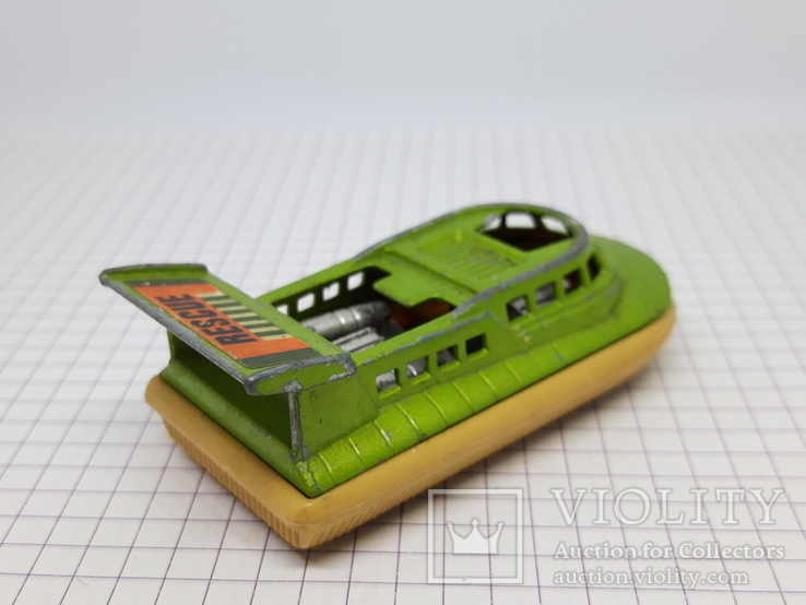 1972 Matchbox Lesney Hovercraft Made in England (cc), фото №5