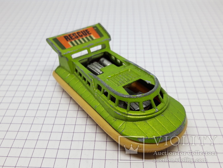 1972 Matchbox Lesney Hovercraft Made in England (cc), фото №7