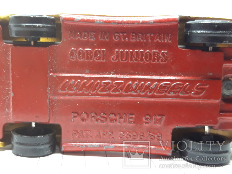 CORGI JUNIORS Porsche 917 Made in Gt. Britain (cc) 2, фото №10