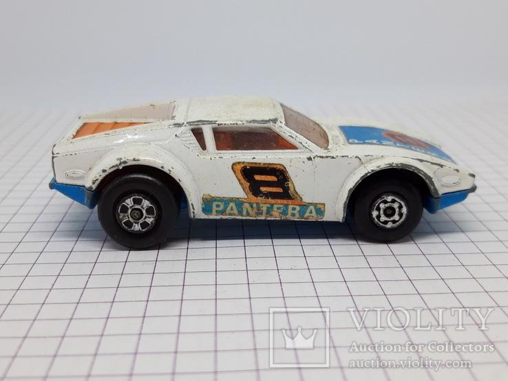 1976 Matchbox Lesney. Made in England.De Tomaso Pantera (cc), фото №6