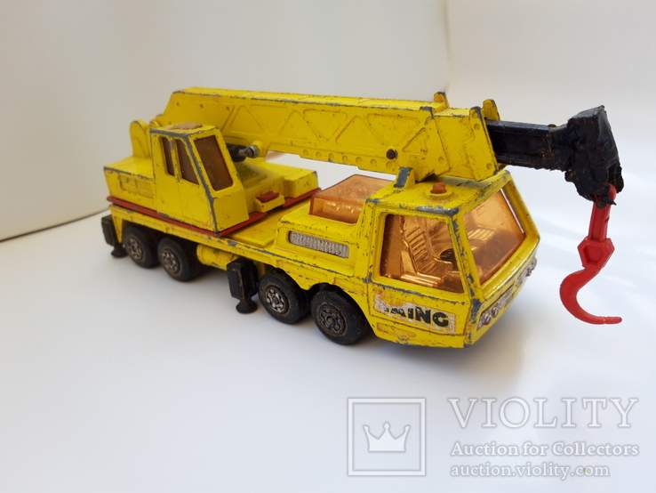 1974 Matchbox Lesney. Made in England. HERCULES MOBILE CRANE (cc), фото №2