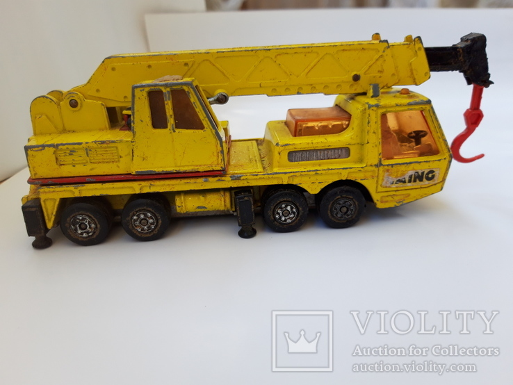 1974 Matchbox Lesney. Made in England. HERCULES MOBILE CRANE (cc), фото №3