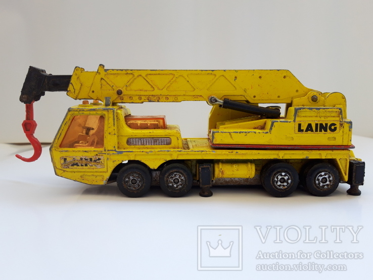 1974 Matchbox Lesney. Made in England. HERCULES MOBILE CRANE (cc), фото №11