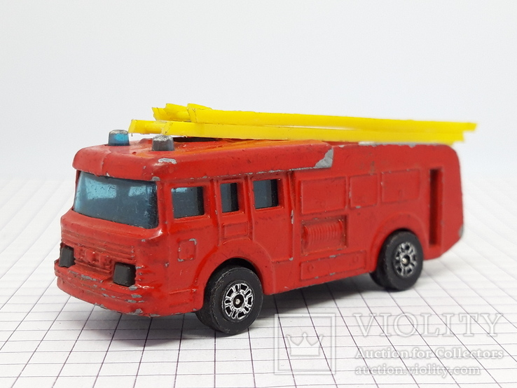 CORGI JUNIORS Made in Gt. Britain. Erf Fire Tender (cc)