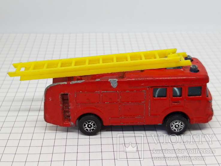 CORGI JUNIORS Made in Gt. Britain. Erf Fire Tender (cc), фото №6