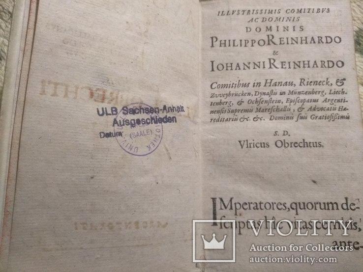 """""""История Августов"""" 1677 (биографии римских императоров от Адриана до Карина), фото №8"""