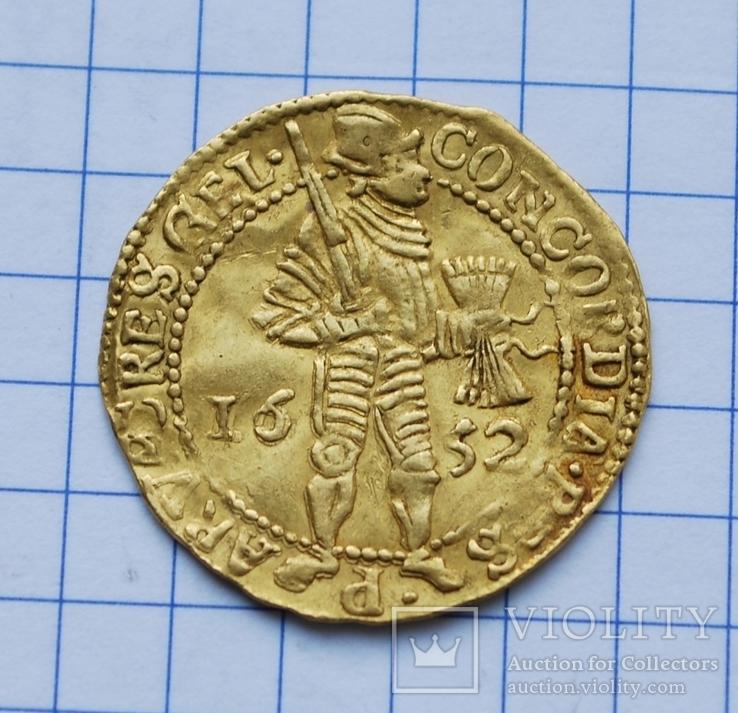 Гельдерн дукат 1652 года