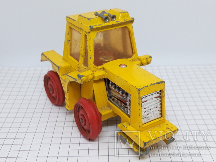 1972 Matchbox Lesney. Made in England. K-5 Muir Hill Tractor (cc), фото №2