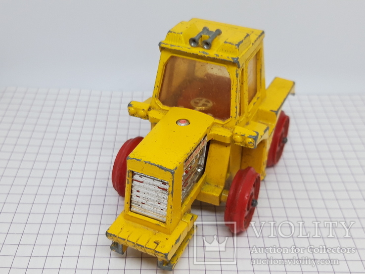 1972 Matchbox Lesney. Made in England. K-5 Muir Hill Tractor (cc), фото №3