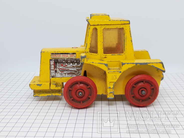 1972 Matchbox Lesney. Made in England. K-5 Muir Hill Tractor (cc), фото №6