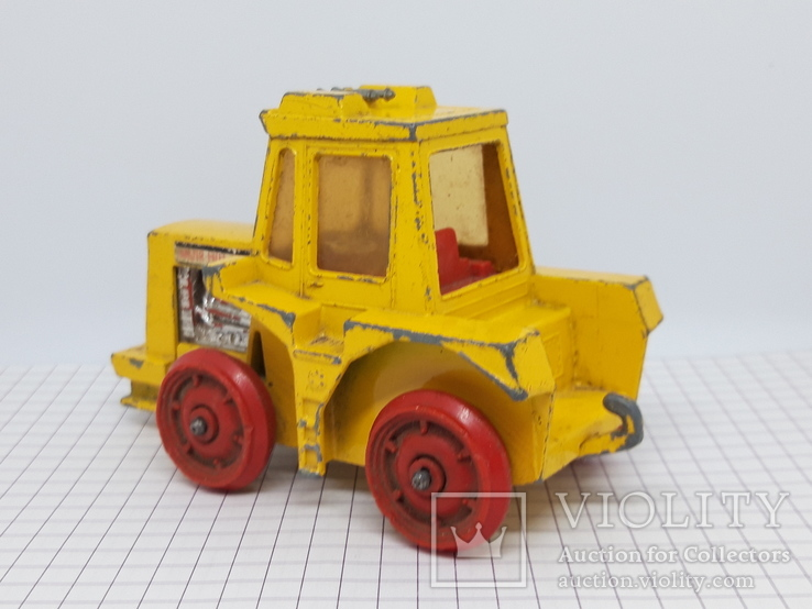 1972 Matchbox Lesney. Made in England. K-5 Muir Hill Tractor (cc), фото №7