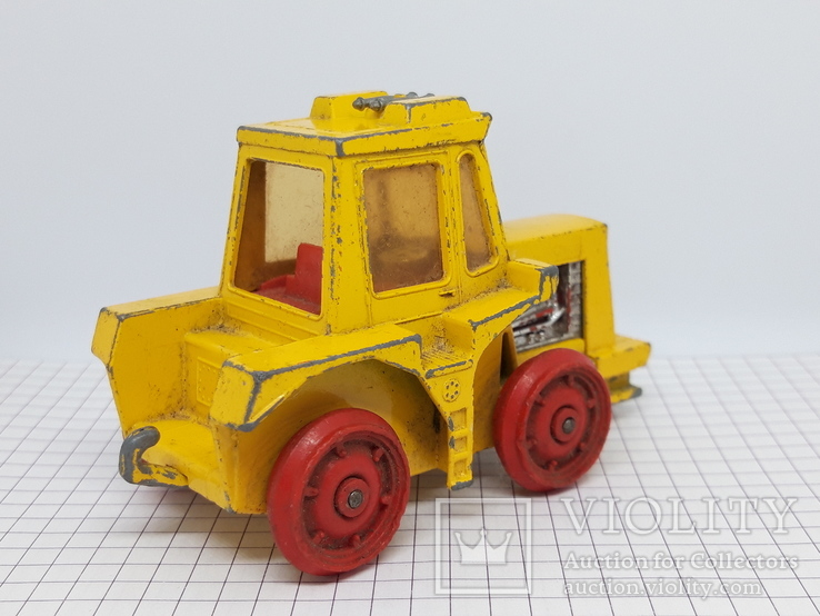 1972 Matchbox Lesney. Made in England. K-5 Muir Hill Tractor (cc), фото №8