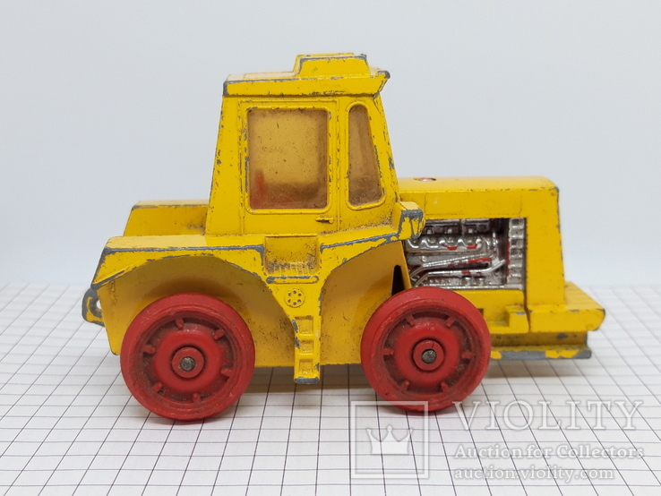 1972 Matchbox Lesney. Made in England. K-5 Muir Hill Tractor (cc), фото №9