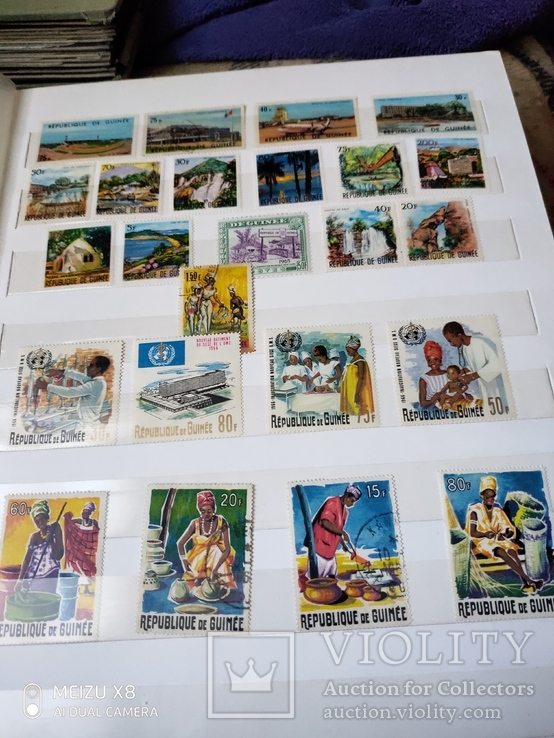 Большой набор марок +бонус кляссер, фото №9