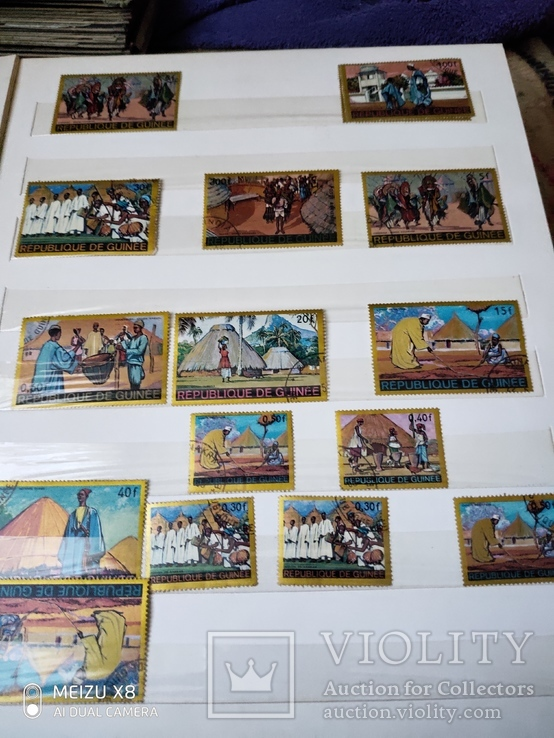 Большой набор марок +бонус кляссер, фото №11