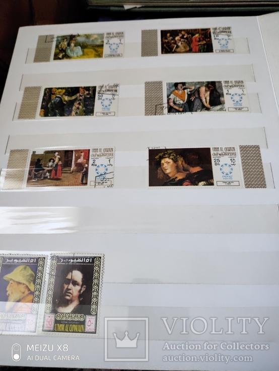 Большой набор марок +бонус кляссер, фото №12