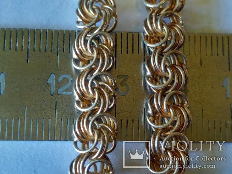 Цепочка ( новая ) серебро, фото №3