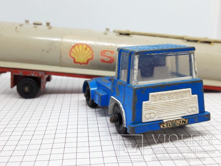CRESCENT TOY. Made in Gt Britain. TANKER SHELL (сс), фото №4