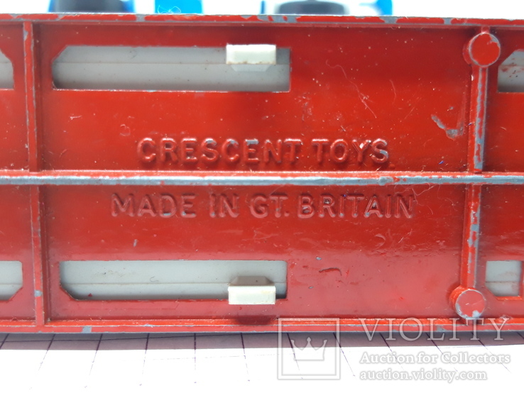 CRESCENT TOY. Made in Gt Britain. TANKER SHELL (сс), фото №8