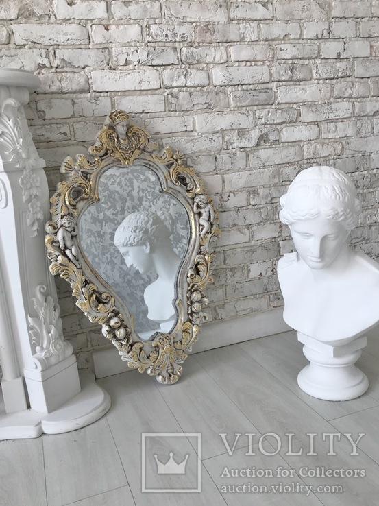 Винтажное зеркало, фото №3