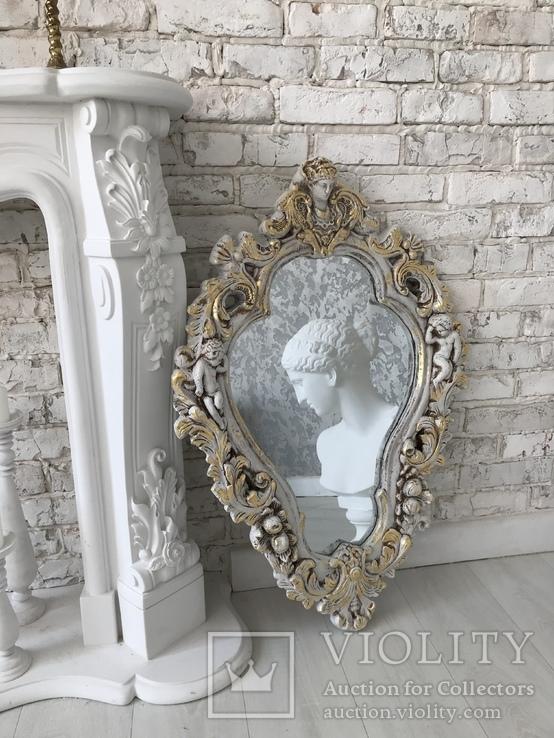 Винтажное зеркало, фото №4