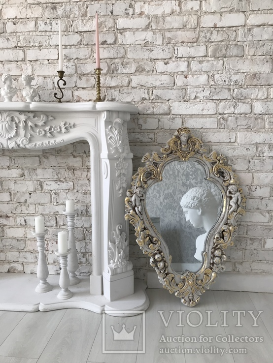 Винтажное зеркало, фото №5
