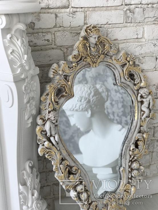 Винтажное зеркало, фото №7