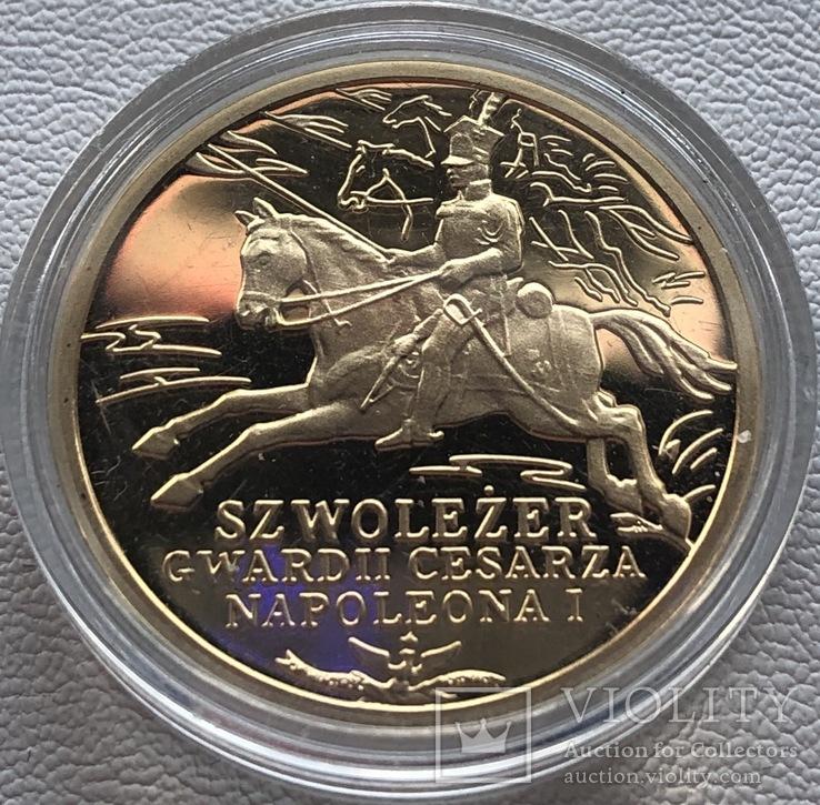 200 злотых 2010 год Польша золото 15,50 грамм 900'