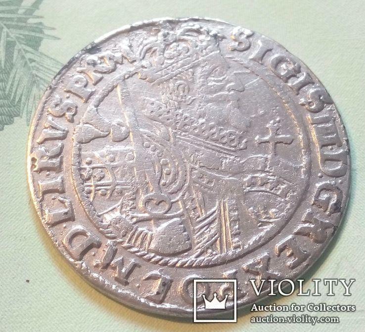 Польша. Коронный Орт Сигизмунда III. 1622 год. Быгдощ. PRM., фото №2