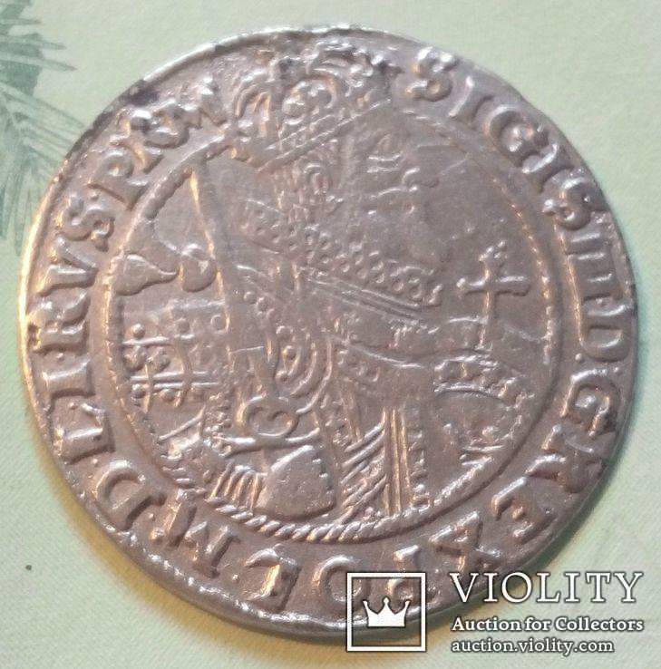 Польша. Коронный Орт Сигизмунда III. 1622 год. Быгдощ. PRM., фото №3