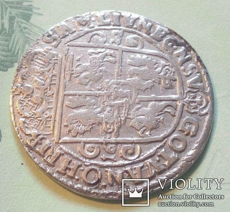 Польша. Коронный Орт Сигизмунда III. 1622 год. Быгдощ. PRM., фото №4