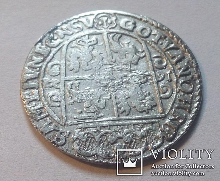 Польша. Коронный Орт Сигизмунда III. 1622 год. Быгдощ. PRM., фото №8