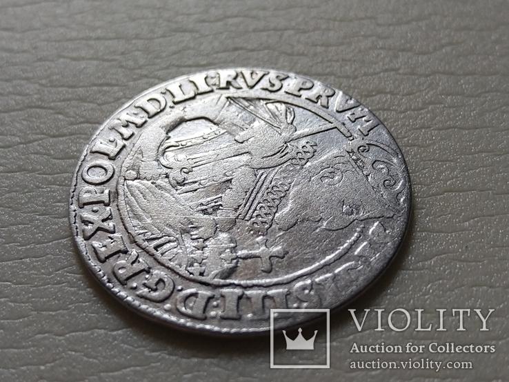 Польша. Коронный Орт 1623 год. Быгдощ. PRV:M, фото №4