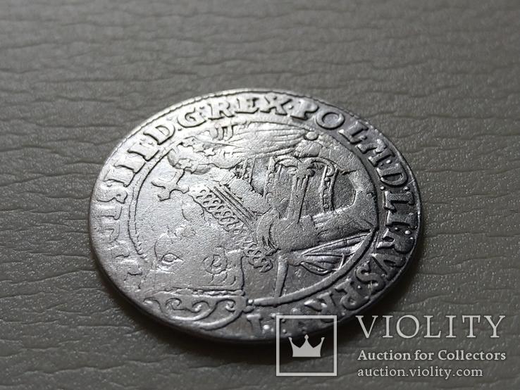 Польша. Коронный Орт 1623 год. Быгдощ. PRV:M, фото №5