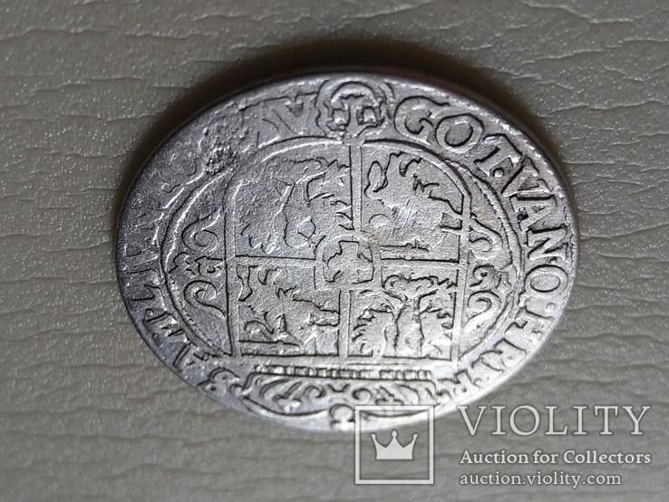 Польша. Коронный Орт 1623 год. Быгдощ. PRV:M, фото №6