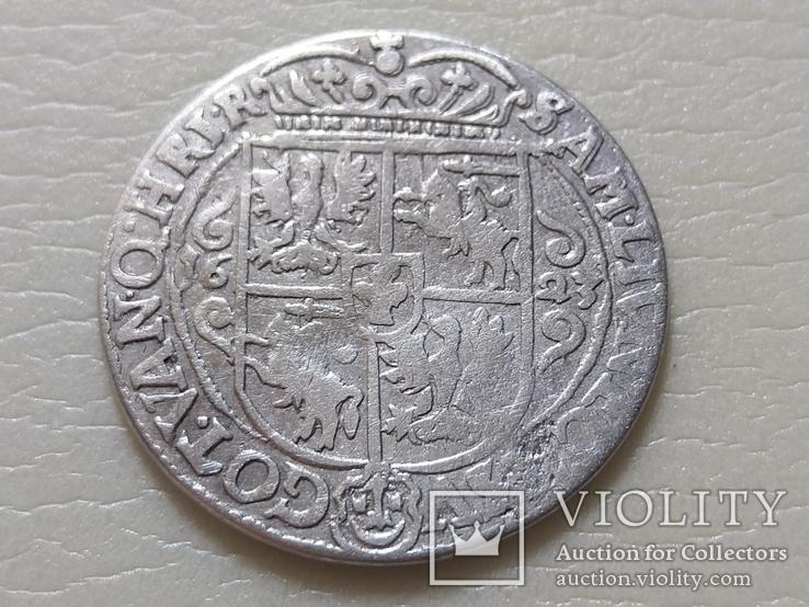 Польша. Коронный Орт 1623 год. Быгдощ. PRV:M, фото №8
