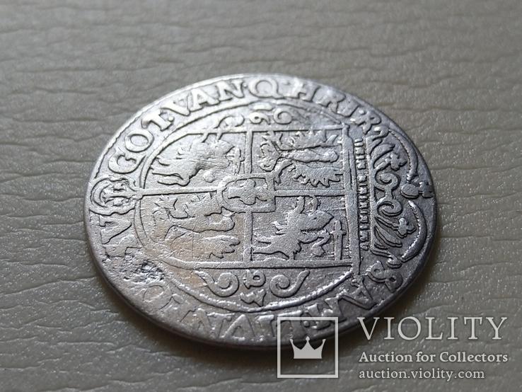 Польша. Коронный Орт 1623 год. Быгдощ. PRV:M, фото №9