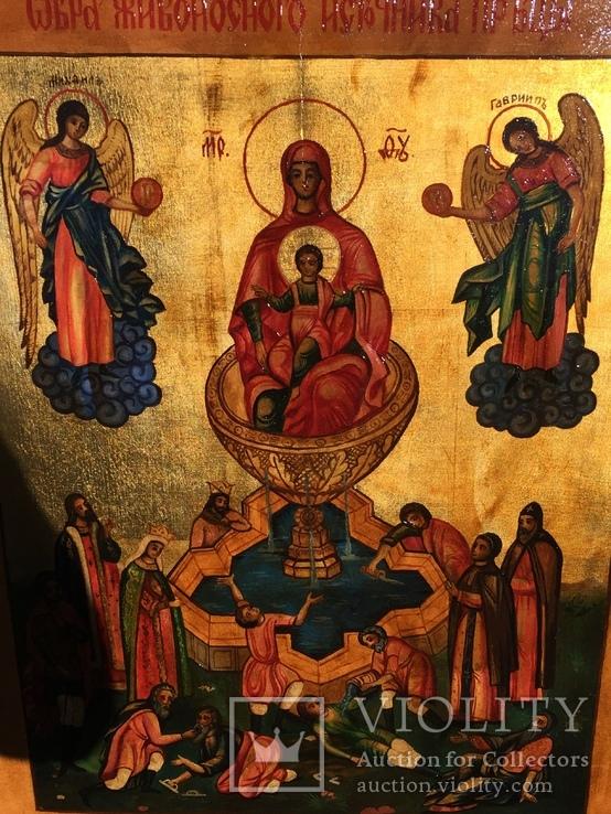 Икона Живоносный источник, фото №5