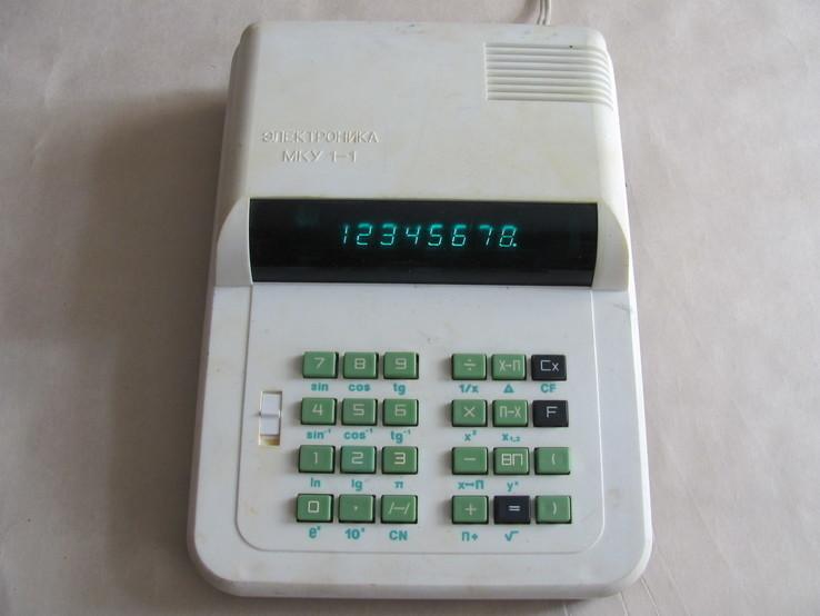 Микрокалькулятор МКУ 1-1, фото №2