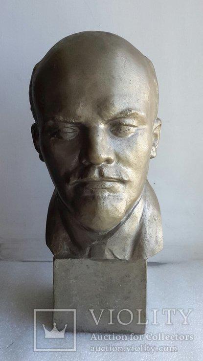 Скульптура Ленин силумин, фото №2