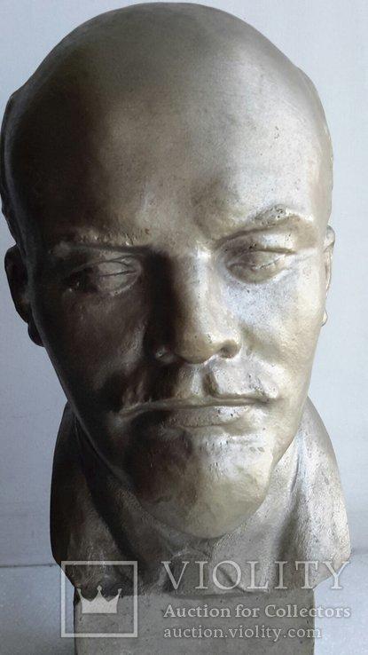 Скульптура Ленин силумин, фото №3
