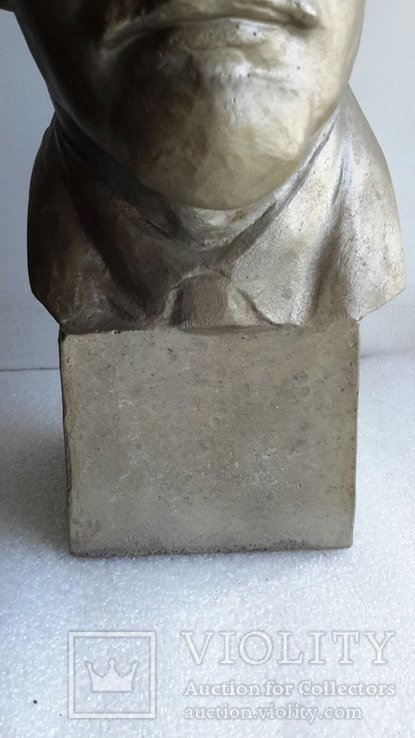 Скульптура Ленин силумин, фото №4