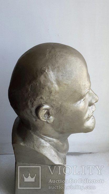 Скульптура Ленин силумин, фото №5