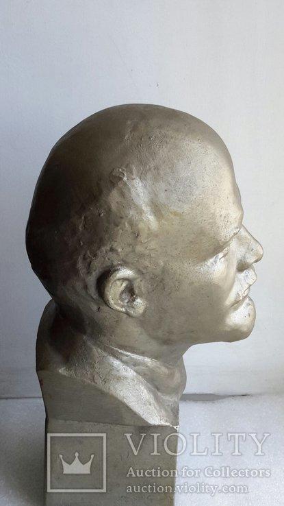 Скульптура Ленин силумин, фото №6