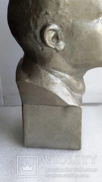 Скульптура Ленин силумин, фото №7