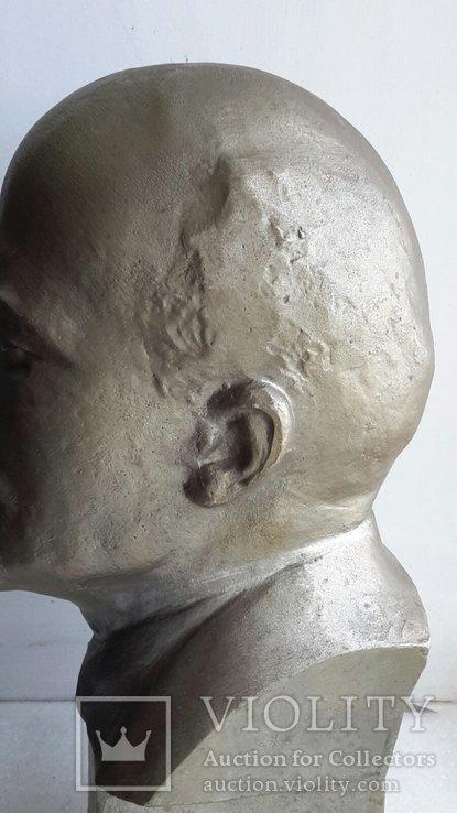Скульптура Ленин силумин, фото №11